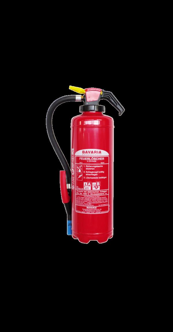 BAVARIA Magnum FOAM-JET 6 SK-XL ist ein Universal Hochleistungs Schaumlöscher mit 12 LE. Das Gerät ist einsetzbar in Industrie und Gewerbe, kommunalen Einrichtungen und Verwaltungen, im Haushalt und allen Bereichen, wo ein umfassender vorbeugender Brandschutz gewährleistet sein muss.