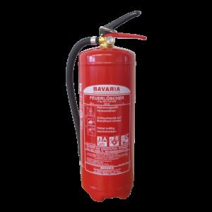 BAVARIA 6kg Dauer-Pulverlöscher, 15LE – Dauerdrucklöscher Pulver Dauerdruck Pulver Größe: 6 kg, Löschmitteleinheiten: 15 Rating: 55 A, 233 B, C