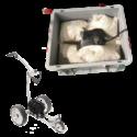 Golfer Ladebox für Akkus mit Brandschutz