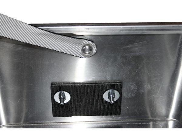 Akku Ladebox ZARGES K470 für 2 x Akku.Mit dem Löschgranulat EXTOVER und Brandschutzmittel .Ein perfekter optimierter Sicherheitsbehälter für die Lagerung und Laden