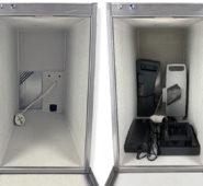Akku Ladebox mit Stromanschluß